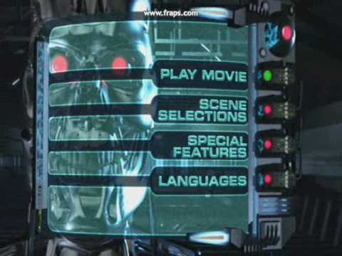 Terminator DVD Menu