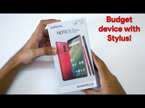 Infinix Note 5 Stylus Unboxing & Initial Impressions!