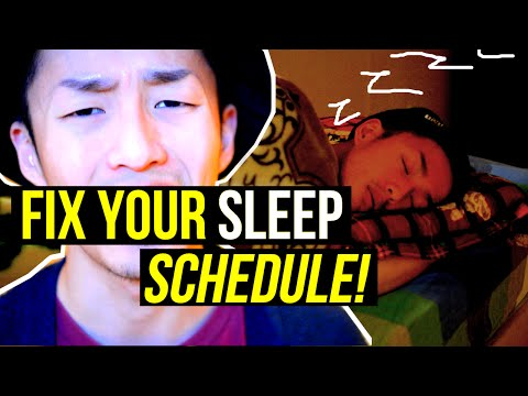 HOW TO FIX YOUR SLEEP SCHEDULE? SLEEPING LIFE HACKS AND HOW TO FALL ASLEEP FAST
