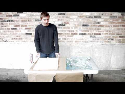 Mounting Photos On Foam Board