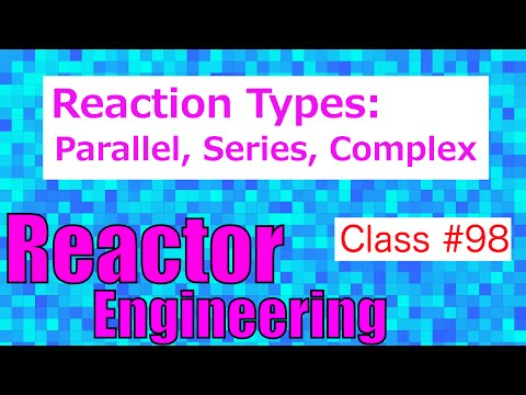 Reaction Types: Independent, Parallel, Series, Complex // Reactor Engineering - Class 98