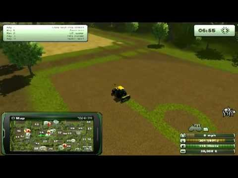 Farming Simulator 2013 - Buying, joining Fields and Resizing/shaping Fields