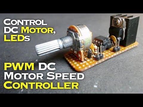PWM DC Motor Speed Controller | LED Dimmer Using NE555