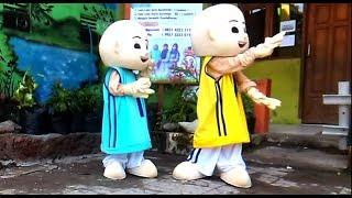 Upin & Ipin Dance - Baby Shark Dance Song For Kids   Anak-anak Asik Lucu Sekali