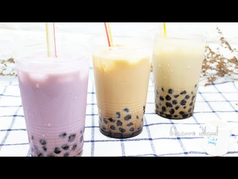 How to make BOBA from Scratch - Bubble Tea 3 Ways | Street Food Adventures EP.03 | bizarre island