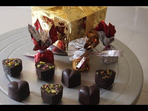 How To Make Diwali Special Chocolate  For Gifting  | Hindi | Desi Zaiqa