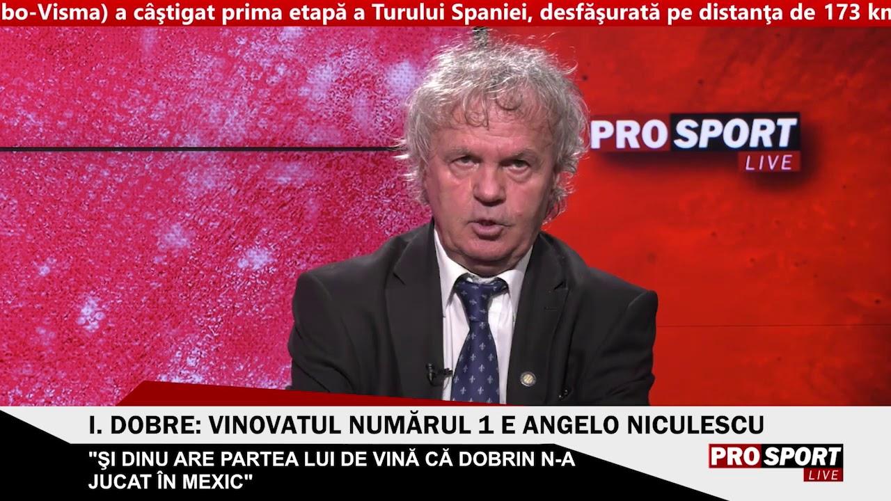 """Ilie Dobre: """"Într-un duel cu Dobrin, Hagi și Balaci n-ar fi atins balonul"""""""