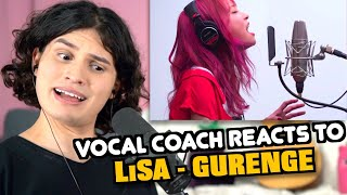 Vocal coach Tristan Paredes reacts to LiSA - Gurenge (Demon Slayer Opening)