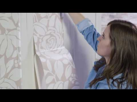 Update Wall Panels or Closet Doors with Peel & Stick Decor