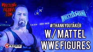 #ThankYouTaker with Undertaker Mattel WWE Toy Wrestling Action Figures
