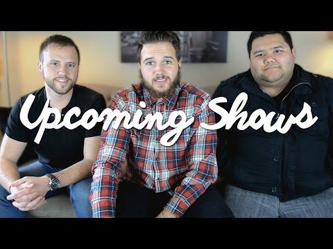 Upcoming Shows || April