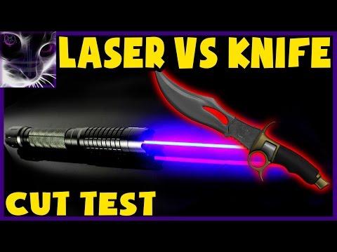 LASER vs KNIFE - Cutting Tests