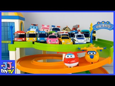 Xxx Mp4 Little Bus TAYO Parking Toy And Super Wings Friends Toys Paly JJtoy TV 3gp Sex