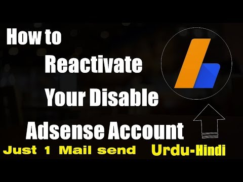 How To Enable Your Disabled Adsense Account get it back 100% (Just 1 Mail)
