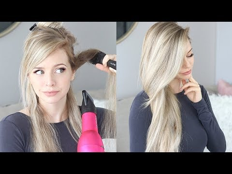 HOW TO: 10 MINUTE BLOWOUT / BLOWDRY TUTORIAL