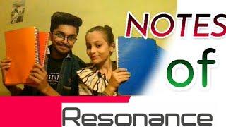 Resonance Study Material Pdf