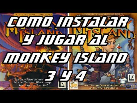 Guía para descargar y jugar al Monkey Island 3 y 4