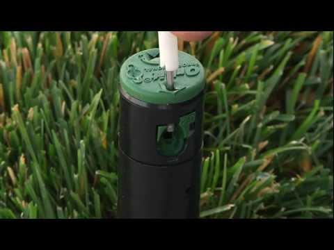 How To Adjust A Saturn IV Gear Drive Sprinkler