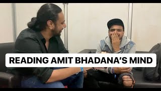 Reading Amit Bhadana's Mind | Karan Singh Magic
