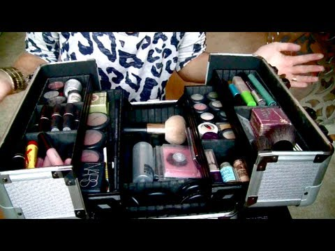 Makeup Collection & Storage + New Train Case!