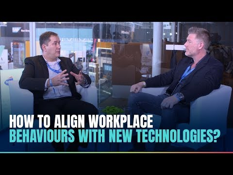 How to align workplace behaviours with new technologies?