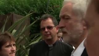 Unedited footage of Jeremy Corbyn