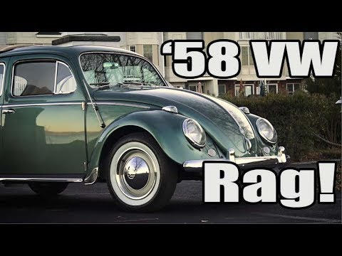Classic VW BuGs 1958 VW Beetle Ragtop Resto