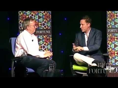 Peter Thiel tells Google Chairman: