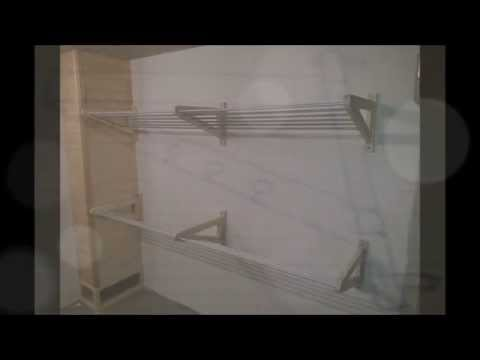 DIY drying rack for clothes