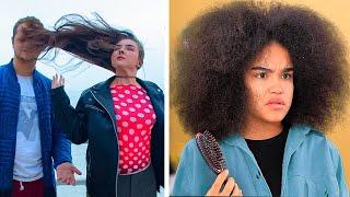 Cheveux Longs VS Cheveux Bouclés / Problèmes Et Dilemmes