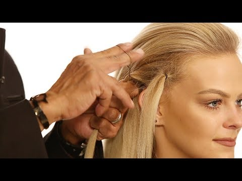 Hair Hack: How To Quickly Twist & Tie a Hair Elastic