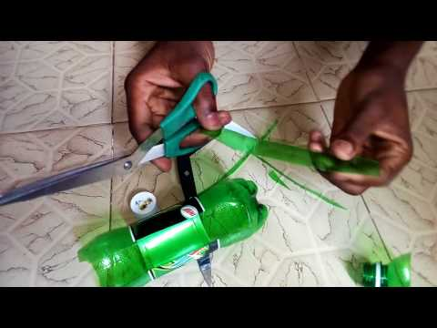 How to make a helicopter propeller
