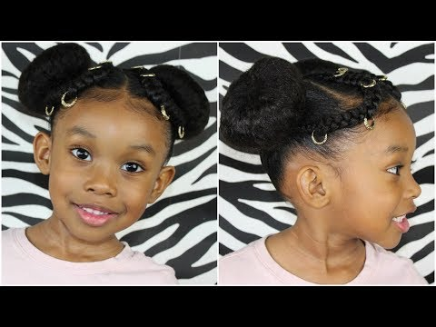 Pigtails, Buns & Cornrows | Kids Natural Hairstyle