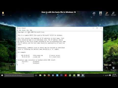How to Edit Hosts File in Windows 10 (Beginner Tutorial)