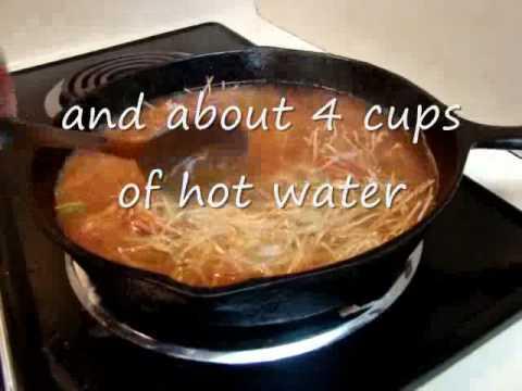 Fideo (Vermicelli Soup)