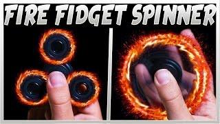 INSANE WAYS TO CUSTOMISE YOUR FIDGET SPINNER (FIDGET SPINNER MAGIC TRICKS!)