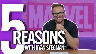 5 Reasons with Ryan Stegman | Marvel Comics