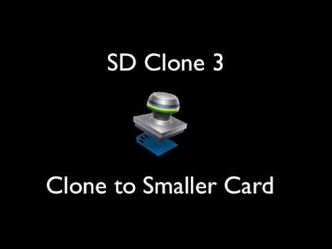 Clone SD Card to Smaller SD card