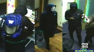 Violent Marijuana Store Robbery Caught On Video!