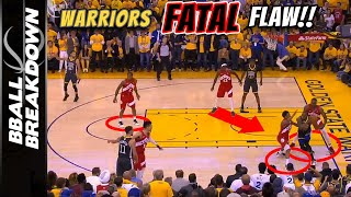 2019 NBA Finals Game 4: Raptors Exploit The Warriors Fatal Flaw