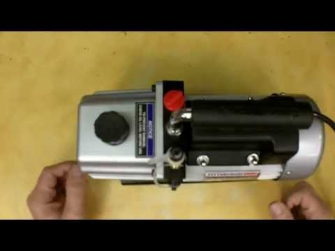 Harbor Freight 3 CFM Two Stage Vacuum Pump Review Item 60805
