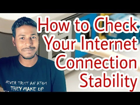 How to check your internet connection stability using command prompt