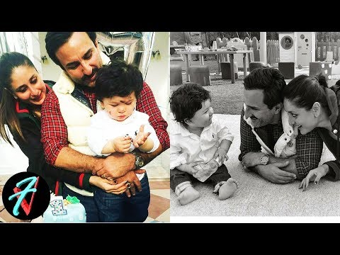 Taimur 's Lovely Pictures with Mom Kareena Kapoor & Dad Saif Ali Khan