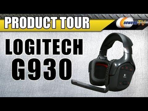 Newegg TV: Logitech G930 Wireless Gaming Headset Product Tour