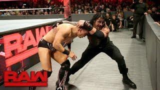 The Miz vs. Roman Reigns - Intercontinental Championship Match: Raw, Oct. 2, 2017