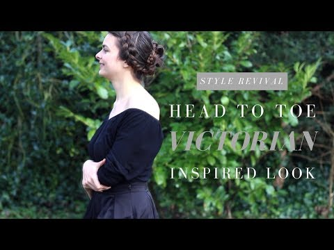 Victorian Inspired Head To Toe Look   Style Revival: 1840s