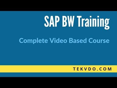 SAP BW Training - INFO PROVIDER Part 1 - SAP BI Training