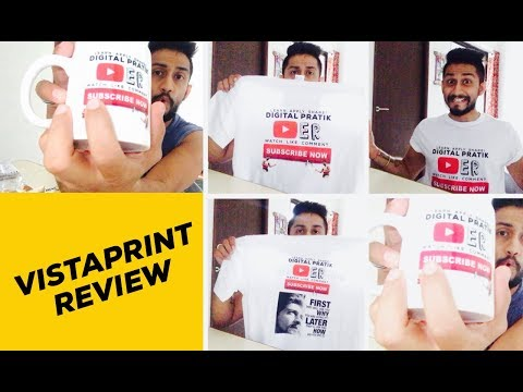 VistaPrint Review 2017 | 100% MUST WATCH Before Your ORDER Anything | Unboxing & Full Review