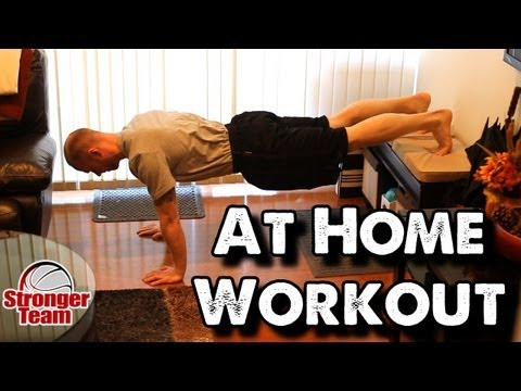 At Home Workout for Basketball