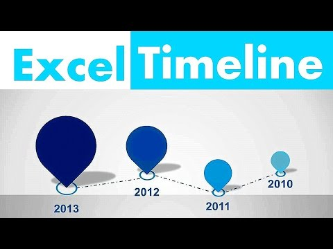 How to Create Excel timeline in 2 minutes